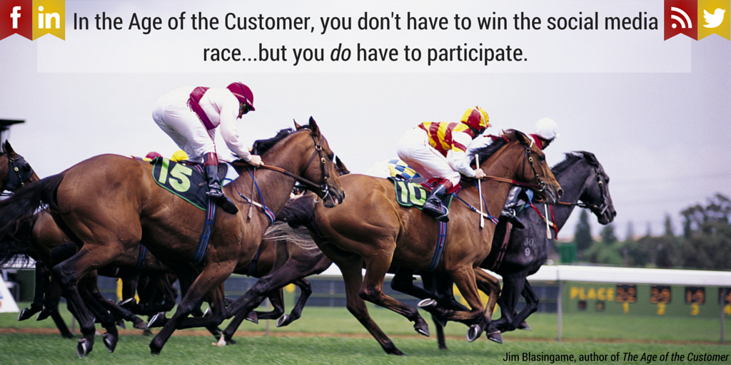 In the Age of the Customer, you don't-3